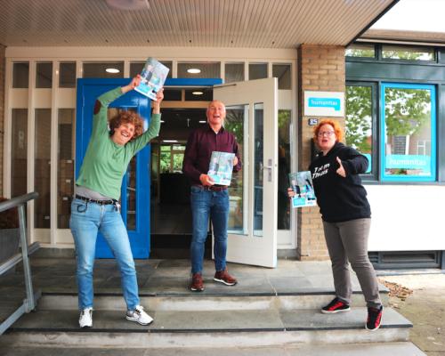 Presentatie magazine Humanitas Twente Stap Vooruit